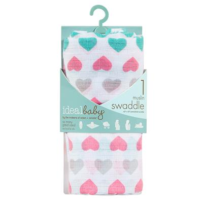 ideal-baby-single-swaddle-pretty-sweet